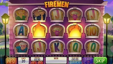 Extinguish the flames for cash wins in firemen slots zuma buffalo