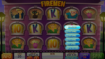 Hotel extinguish the flames for cash wins in firemen slots triple powers