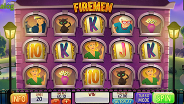 Racing offline extinguish the flames for cash wins in firemen slots key finder
