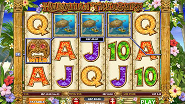 Hawaiian Treasure Slot