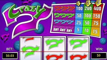 Crazy 7 Slots Online