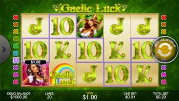 Gaelic Luck Slots Online