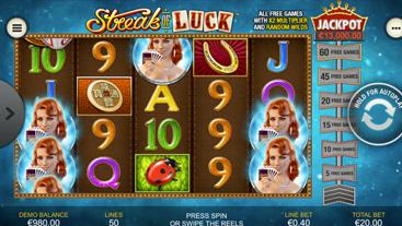 Streak of Luck Slots Online