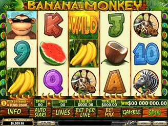 Spielen sie Banana Monkey Spielautomaten Online