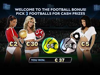 Play Benchwarmer Football Girls Online