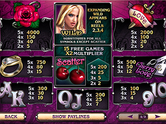 Play Cherry Love Slots Online