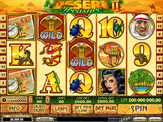 Play Desert Treasure 2 Slots Online
