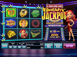 Spielen sie Everybody's Jackpot Spielautomaten Online