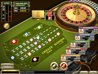 Play Multiplayer French Roulette Online