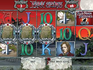 Spielen sie Full Moon Fortunes Spielautomaten Online