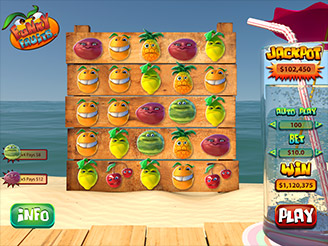 Play Funky Fruits Slots Online