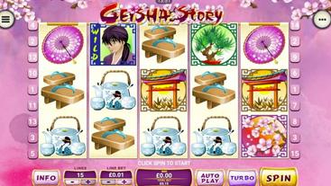 Geisha Story Slots Online