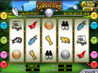 Play Golden Tours Slots Online