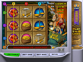 Play Gold Rally Slots Online