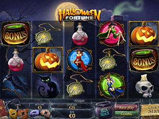 Play Halloween Fortune Slots Online