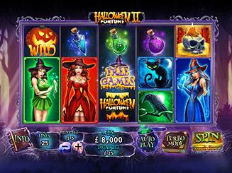 Play Halloween Fortune II Slots Online