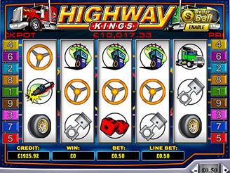 Spielen sie Highway Kings Spielautomaten Online