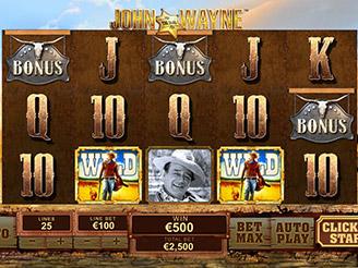 Play John Wayne Slots Online