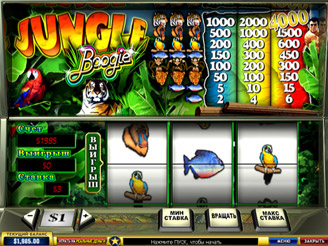 Play Jungle Boogie Slots Online