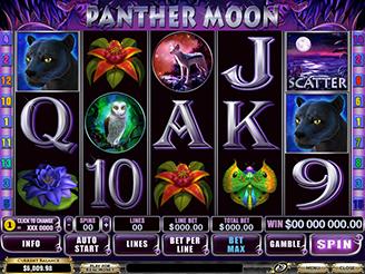 Spielen sie Panther Moon Spielautomaten Online