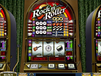 Play Rock'n Roller Slots Online