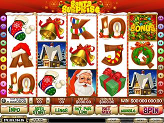 Spielen sie Santa Surprise Spielautomaten Online