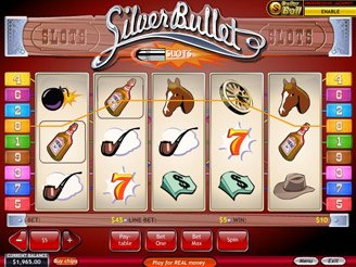 Play Silver Bullet Slots Online