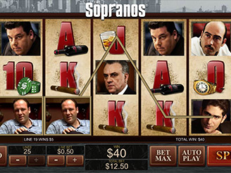 Play the Sopranos Online Slots