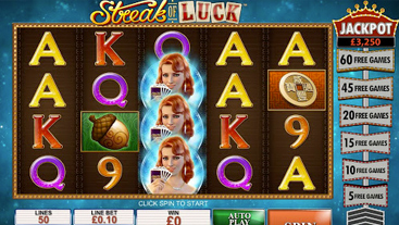 Streak of Luck Slots Online