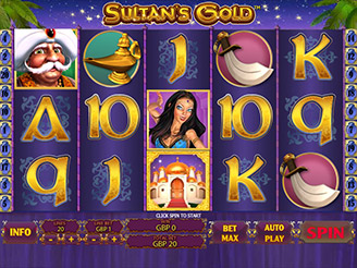 Play Sultan's Gold Online
