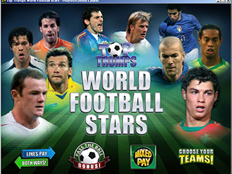 Play Top Trumps World Football Stars  Slots Online