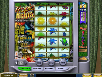 Spielen sie Tropic Reels Spielautomaten Online