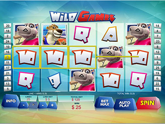 Play Wild Games Slot Online