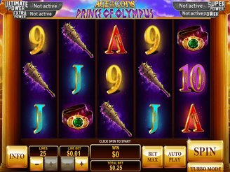 Play Age of the Gods: Prince of Olympus Slots Online