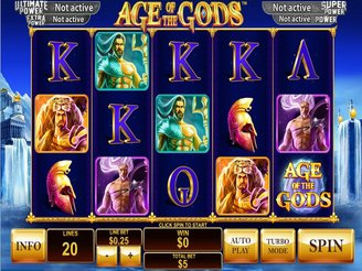 Play Age of Gods Slots Online