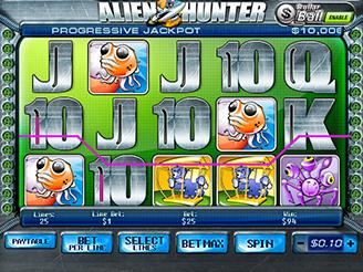 Play Alien Hunter Slots Online
