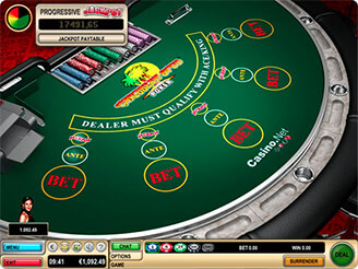 Play Caribbean Stud Video Poker Online