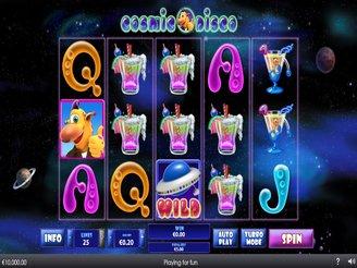 Play Cosmic Disco Slots Online