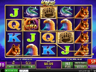 Play Roaring Wilds Slots Online