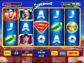 Play Superman II Slots Online