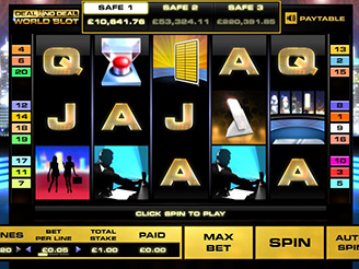 Spielen sie Deal or No Deal International Spielautomaten Online