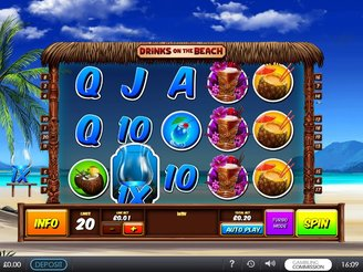 Play Drinks on the Beach Slots Online
