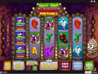 Play Fairground Fortunes Ghost Train Online