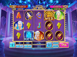 Play Age of the Gods Fate Sisters Slots Online