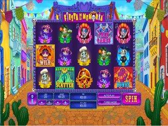 Play Fiesta de la Memoria Slots Online
