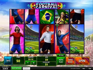 Play Football Carnival Slots Online