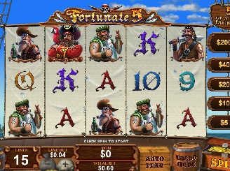 Play Fortunate 5 Slots Online