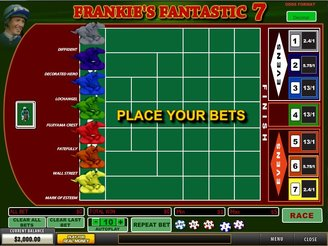 Play Frankie's Fantastic 7 Arcade Online