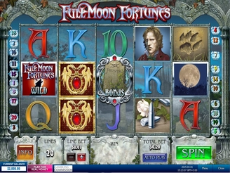 Play Full Moon Fortunes Slots Online