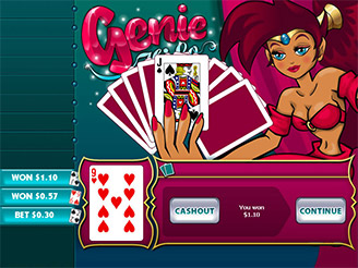 Play Genie's Hi Lo Arcade Online
